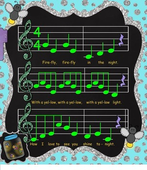 Firefly, Firefly: A Pentatonic Song w/ Sequencing Activity (SMNTBK Edition)