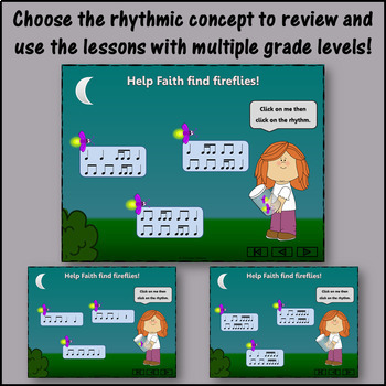 Music Lesson Plan ~ Firefly, Firefly: Orff, Rhythm, Form & Instruments {BUNDLE}