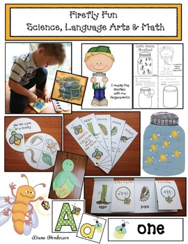 Firefly Fun: Science, Math & Language Arts Activities