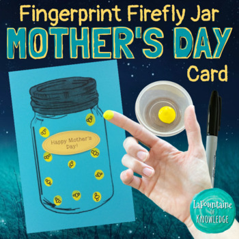 Firefly Jar Mother's Day Card