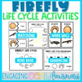 Firefly Life Cycle | Word Wall & Activities | Preschool PreK Kindergarten