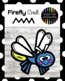 Firefly (Lightning Bug) Craft Activity for Summer, Bug, Insect Science Center