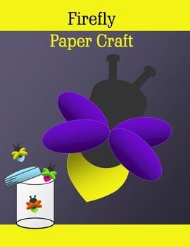 Firefly Paper Craft