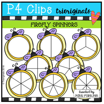 Firefly Spinners (P4 Clips Trioriginals)