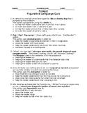 Firegirl Figurative Language Quiz