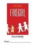 Firegirl Novel Study