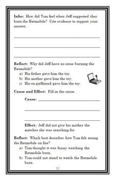 Firegirl (Tony Abbott) Novel Study / Reading Comprehension Unit  (35 pages)