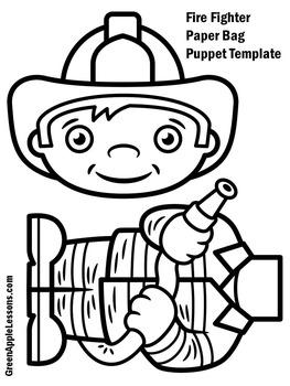 Fireman Craft | Fireman Activity | Firefighters | Fireman Kindergarten