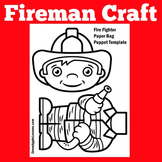 Fireman Craft Activity