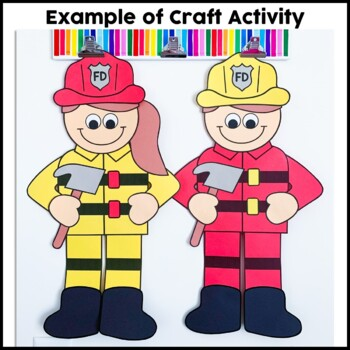 Firefighter Cut and Paste