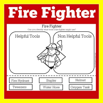 Fireman Kindergarten | Fire Fighters | Fireman Activity