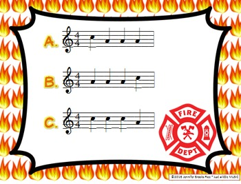 Fireman Melodies -- An Aural Melody Recognition Game {sol mi}