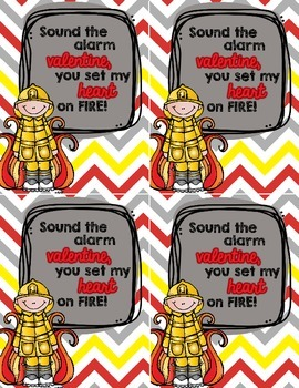 Fireman Valentines