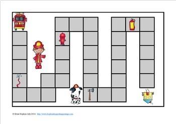 Firemen Sight Word Race