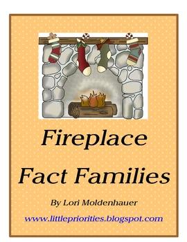 Fireplace Fact Family Math Center