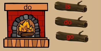 Fireplace Kindergarten Sight Words