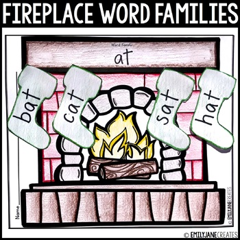 Fireplace Stockings Word Families