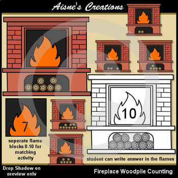 Fireplace Woodpile Counting