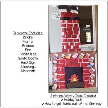 Fireplace and Writing Set
