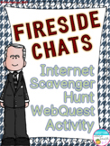 Fireside Chats Internet Scavenger Hunt WebQuest Activity