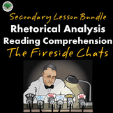 Fireside Chats Reading Comprehension Rhetorical Analysis S