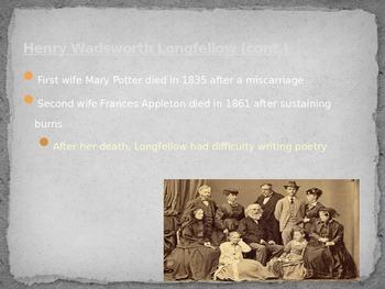 Fireside Poets background PowerPoint
