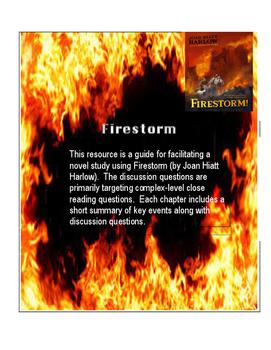 Firestorm Close Reading Questions