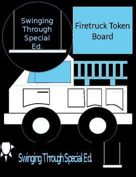 Firetruck Themed Token Board