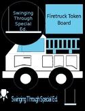 Firetruck Themed Token Board