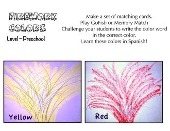 Firework Colors