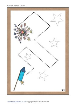 Firework Pencil Control