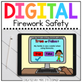 Firework Safety Digital Activity for Summer | Distance Learning
