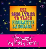 "Free Downloads: ""Firework"" by Katy Perry Poetry Terms Figurative Language"