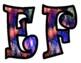 Fireworks Alphabet Bulletin Board Letters