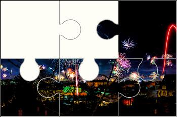 Fireworks Celebration Digital Puzzle VIPKID
