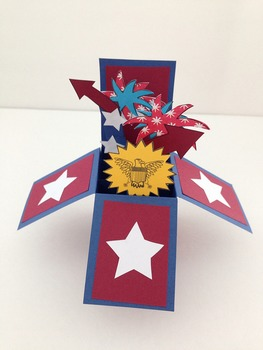 Fireworks Fourth of July/Independence Day Card