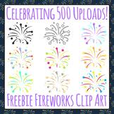 Fireworks Free Clip Art - Celebrating 500 Uploads!