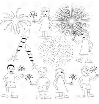 Fireworks Fun by Poppydreamz