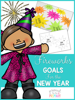New Years Fireworks Goals for the New Year