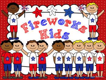 Fireworks Kids Clipart