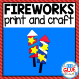 4th of July Fireworks Activity and Creative Writing
