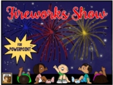Fireworks Show:  An Interactive Activity for PowerPoint (F