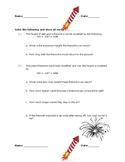 Fireworks and Quadratics