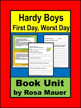 First Day, Worst Day Hardy Boys Book unit