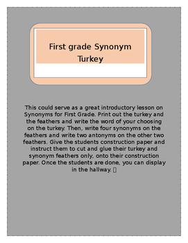 Firs Grade Synonym Turkey