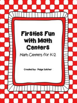 Firsite Fun with Common Core Math Centers