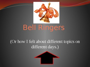 First 10 Days Bell Ringers