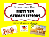 First 10 German Lessons. 516 pages of lessons, powerpoints