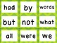 First 100 Fry Sight Word Cards  (Brights)