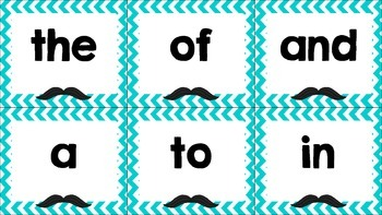 First 100 Fry Sight Word Flashcards
